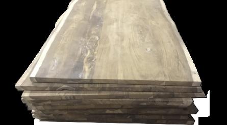 Unfinished Vietnamese Walnut Wood Slab